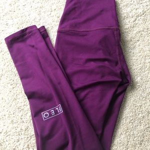 Fleo El Toro leggings - purple 25in